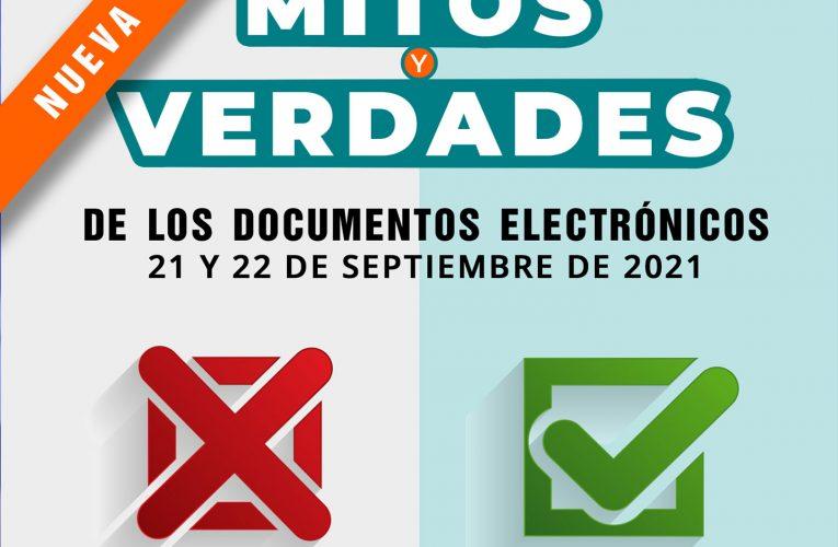 Taller Mitos y verdades de los Documentos Electrónicos